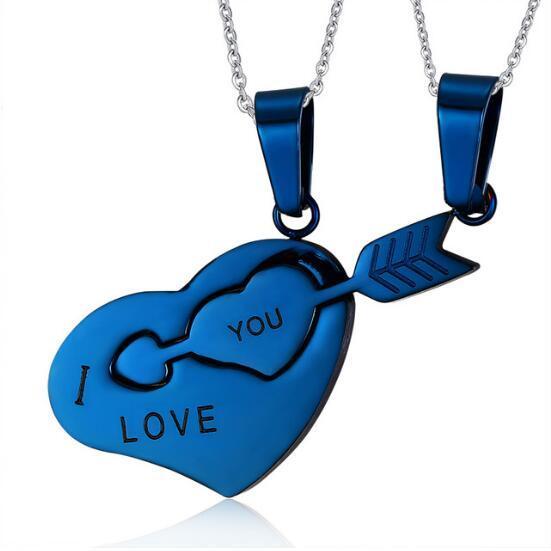 Купить looker i love you ожерелье лучших друзей кулон из нержавеющей картинки