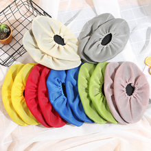 1Pair Men Women Cloth Shoe Covers Non-slip Washable Reusable Household Thick Mesh Shoes Covers Solid Color Overshoes Accessories(China)