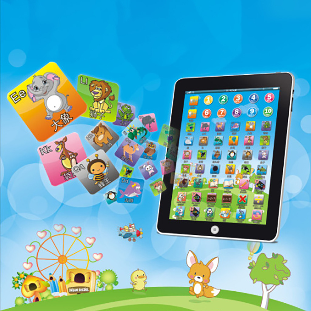 Children's Tablet Reading Machine Children's Christmas Gift for Educational Learning kids toys juguetes brinquedos игрушки New image