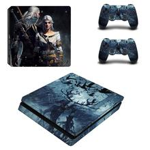 와일드 헌터 전체 Faceplates PS4 슬림 스킨 스티커 데칼 비닐 플레이 스테이션 4 콘솔 & 컨트롤러 PS4 스티커
