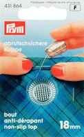 431864 deutschland PRYM Fingerhut mit anti-slip rand, 18,0mm, silber-farbige, artikel