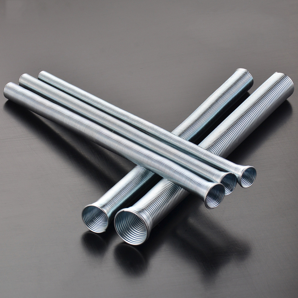 5pcs Spring Tube 210mm Tension Spring Pipe Bender PVC Air Condition Pipe Electrical Wire Bending Pipe Tubing Bender Hand Tools