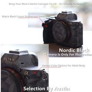 Image 4 - פרימיום מדבקות עור עבור Sony A7III A7R3 A7M3 מצלמה עור מדבקות מגן נגד שריטות מעיל לעטוף כיסוי מקרה
