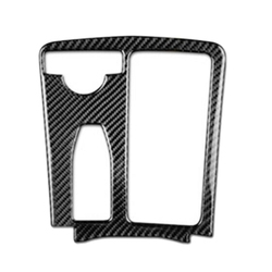 Voor Mercedes Benz C Klasse W204 E Klasse W212 Carbon Fiber Console Panel Cover Trim
