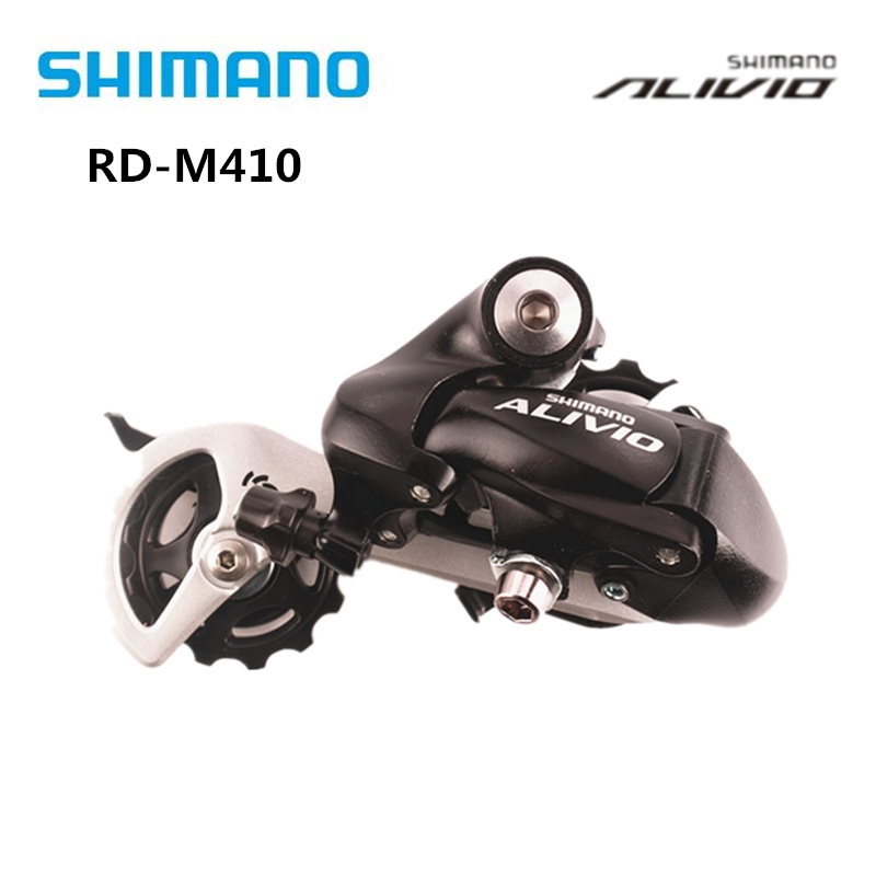 Shimano RD-M410 Alivio SGS Rear Derailleur Long Cage 7//8Speed For MTB Bike Black