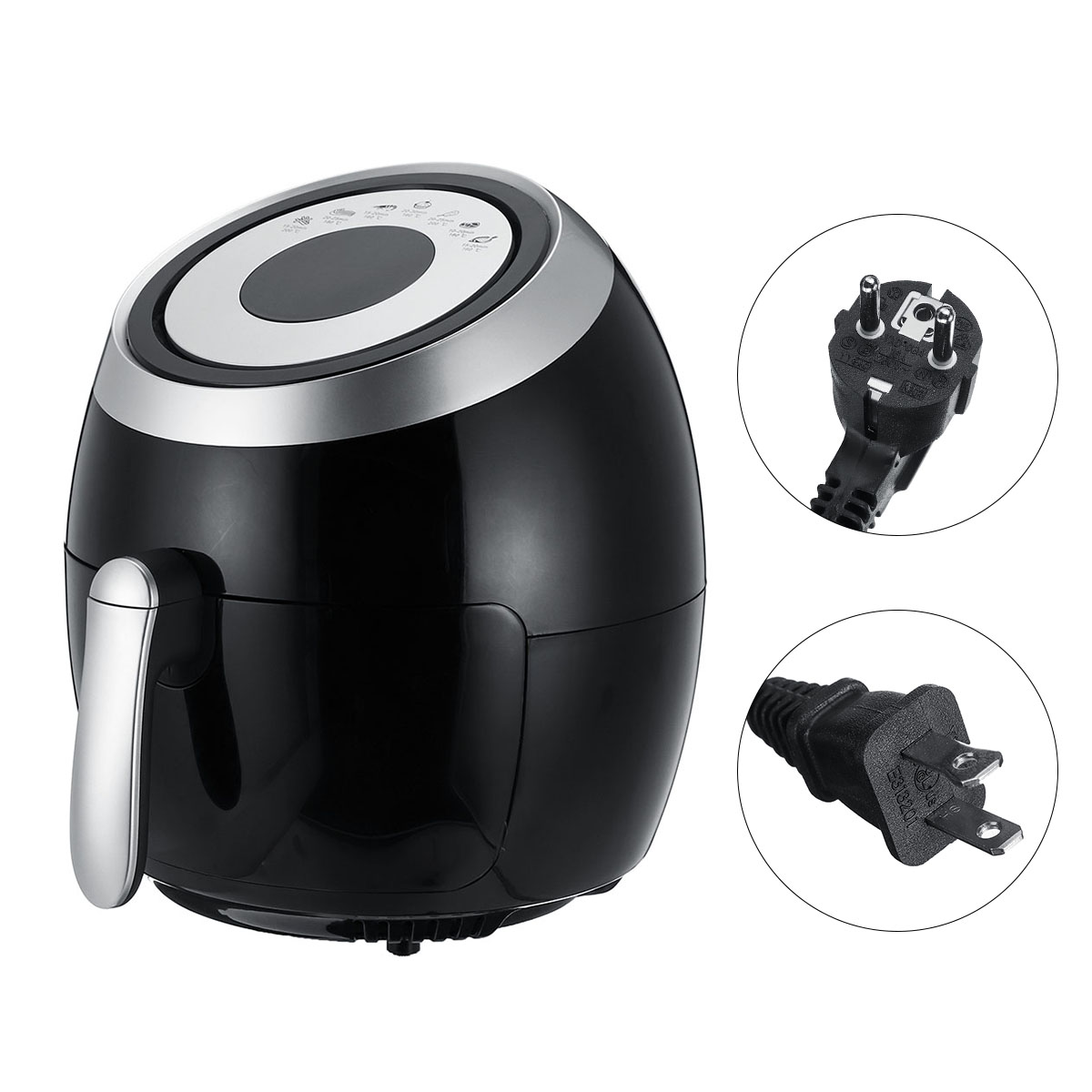 Air Fryer 5L Oil Free Low Fat Healthy Cooker Oven Food Frying Chip Fry Kitchen
