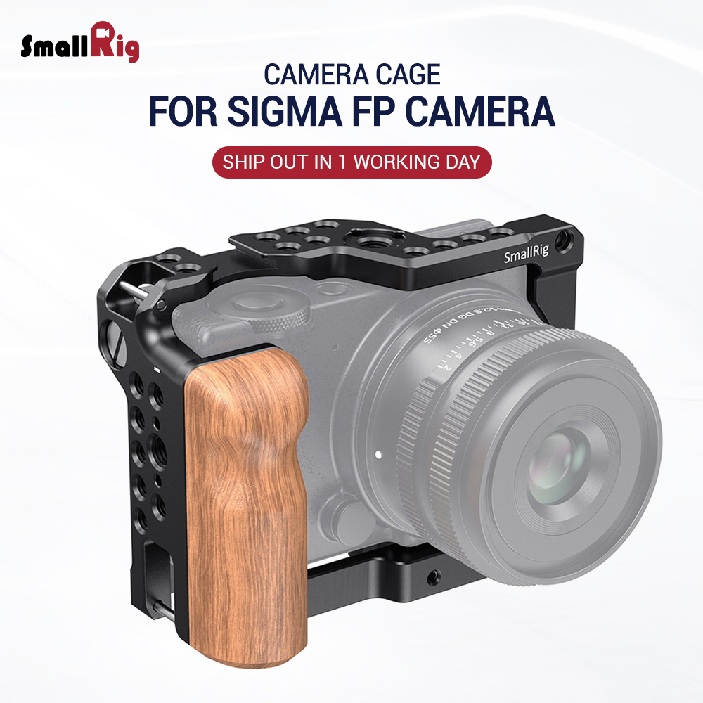 SmallRig FP Camera Cage For SIGMA Fp Camera With Cold Shoe Mount & Arri Locating Holes Fr Flash Light Microphone DIY Option 2518