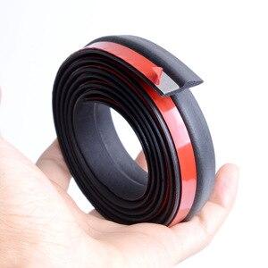 Image 5 - Strisce di tenuta in gomma per portiera per auto isolamento acustico a forma di Z guarnizione in gomma Epdm tipo Z guarnizione in gomma per accessori interni auto