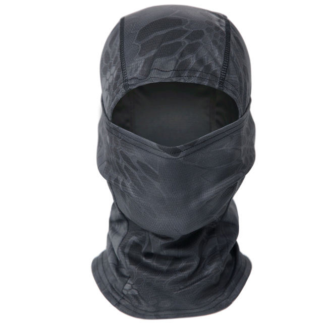 Military Tactical Balaclava Full Face Mask Airsoft Paintball Mask Bandana Army Outdoor Fishing Hunting Camouflage Neck Gaiter