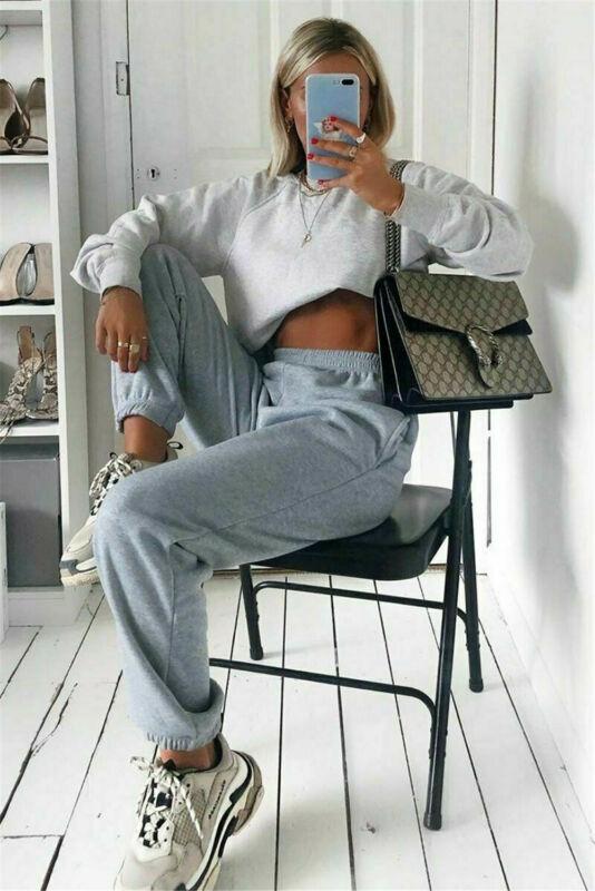 Sweatpants Ladies Sport Pants Women Gym Jogger Harem Pant Loose High Waist Elastic Pant Baggy Trousers