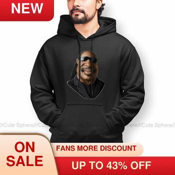 Cool Stevie Wonder Stevie Wonder Caricature Hoodies Warm Cotton Hoodie Streetwear Long Length Pullover Hoodie Men XXX недорого
