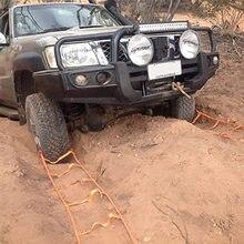 Corde de remorque d'urgence pour voiture 4x4, treuil de récupération de véhicule, outils de survie en plein air, route boueuse, sable, sauvetage