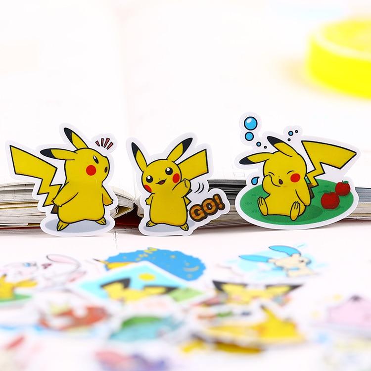 40PCS Mini Cartoon   Paper Stickers Crafts And Scrapbooking Stickers Kids Toys Book Decorative Sticker DIY Stationery