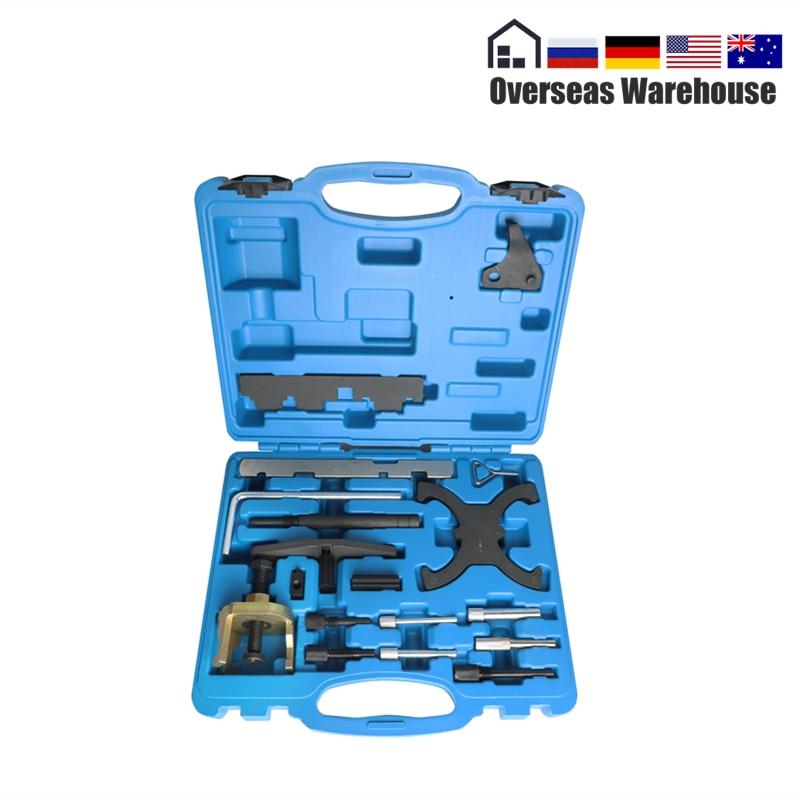 Engine Timing Belt Pins Tool Kit Camshaft Sprocket Removal Flywheel Locking VTC For Ford 1.4 1.6 1.8 2.0 Di TDCi TDDi For Mazda