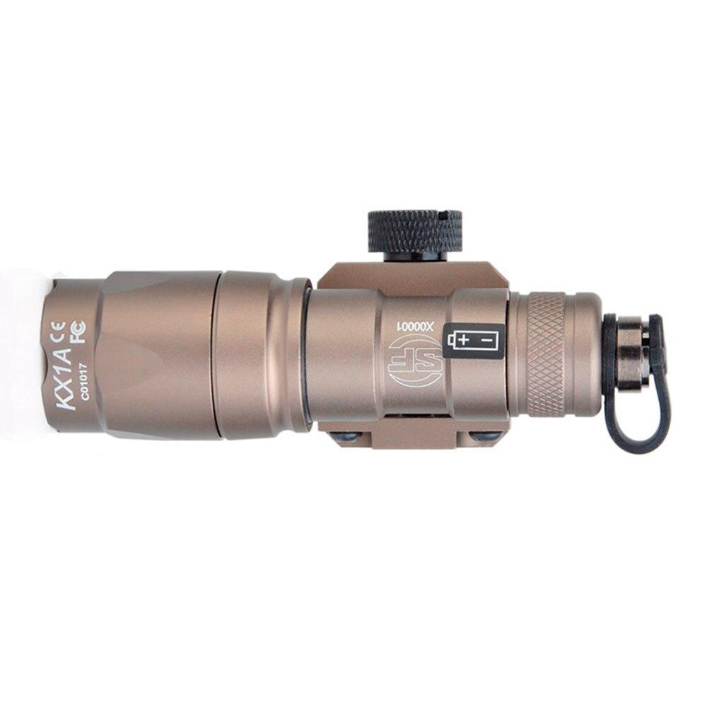 lanterna 280 lumens led tatical caça arma