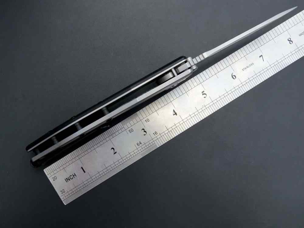 Eafengrow ZT0562 พับมีด ZT 0562 มีดยุทธวิธี 9CR18MOV ใบมีดเหล็ก + G10 Handle Ball แบริ่งมีดกลางแจ้งเครื่องมือมีด