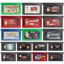 32ビットビデオゲームカートリッジコンソールカードとっとこハム太郎虹救助euバージョン任天堂gba