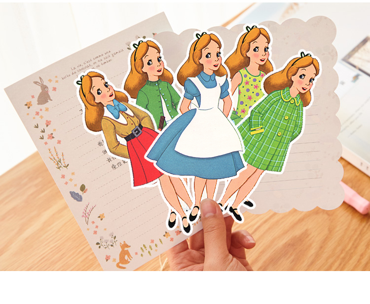 Vitage Girl Crossdress Stickers Crafts And Scrapbooking Stickers Book Student Label Decorative Sticker Kids Toys