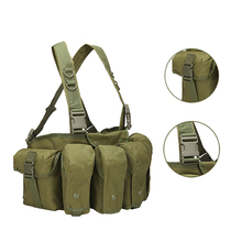 Holster Swat Magazine-Pouch Molle-System Tactical-Vest Chest-Rig Military-Gear Waist