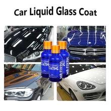 3pcs 9h carro líquido revestimento cerâmico super hidrofóbico conjunto de revestimento de vidro polysiloxane e nano materiais cerâmica para carros