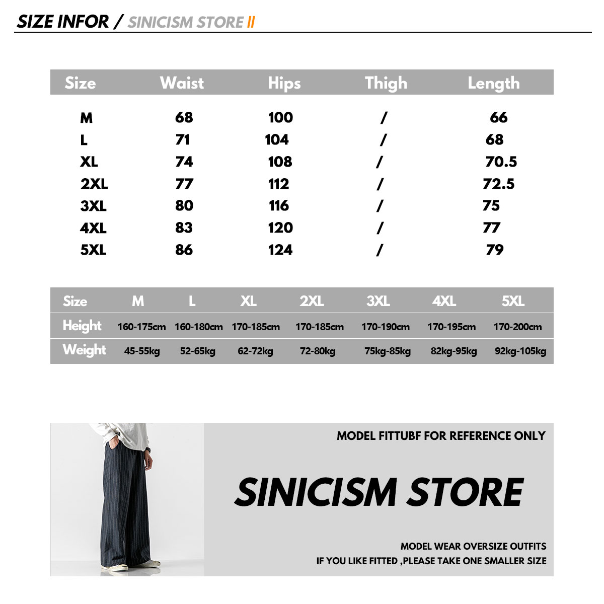 Sinicism Store Men Striped Chinese Style Wide Leg Pants Mens 2020 Japan Style Loose Trousers Male Oversize Vintage Casual Pants 29