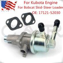 Bomba de combustible para tractores Kubota, minicargador Bobcat, 753 y 763, 17121-52030, 1712152030, 17121, 52030, novedad