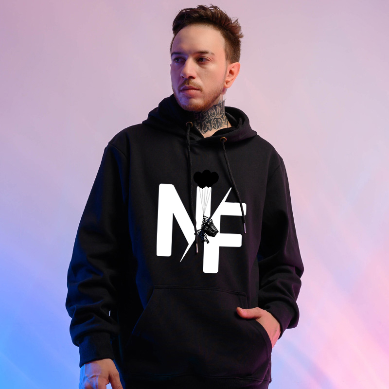 2020 Autumn Oversized Hoodies Rapper NF Hoodie Men Harajuku Sweatshirt Women Streetwear Hoody Female Korean Clothes Dropshipping