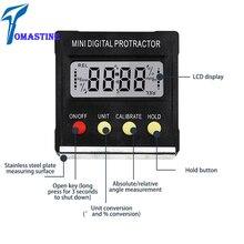 Universal 360 Degree Mini Digital Protractor Inclinometer Electronic Level Box Magnetic Base Tester Measuring Tools