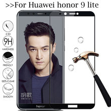 honor 9 lite Protective Glass for huawei honor 9 9lite screen protector honer9 lite hauwei Honor9lite honer 9 light safety Film(China)