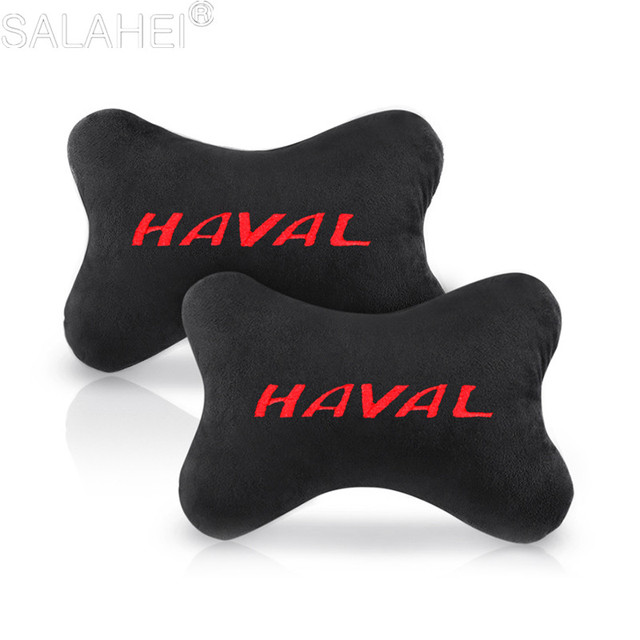 2 Auto Hoofdsteun Seat Hoofd Hals Rest Kussen Pad Voor Grote Muur Haval Hover H3 H5 H6 H7 H9 H8 voor Chery A1 A3 Amulet A13 E5 Tiggo