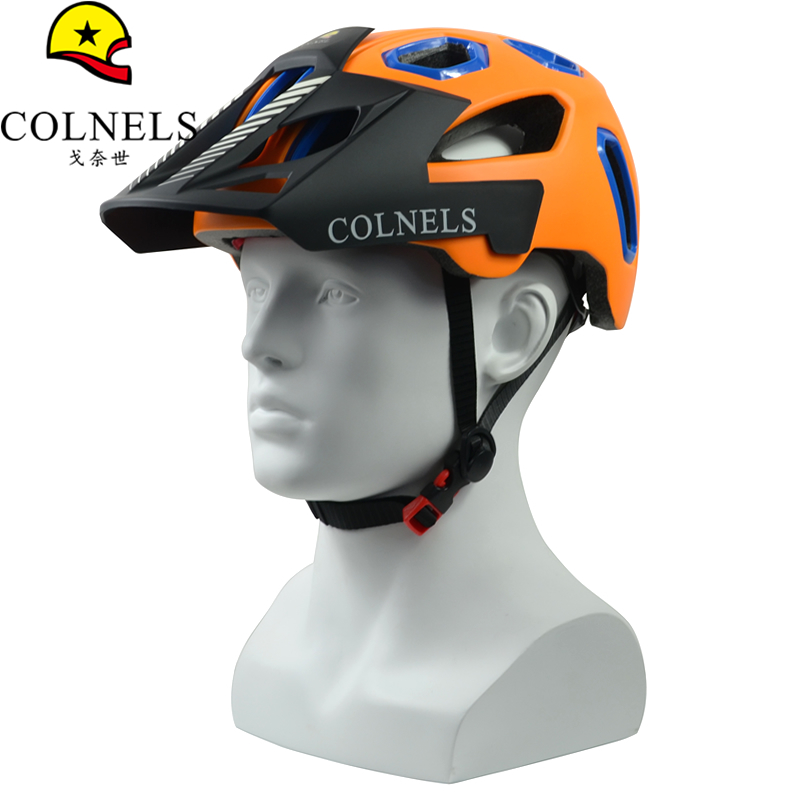 7iDP M-2 MTB Mountain Bike Bicycling Helmet Gradient Orange//Black//White