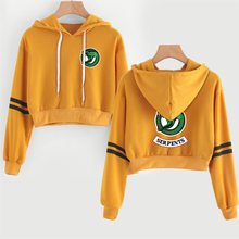 women pullover sweat crop top sudadera riverdale hoodie cropped sweatshirt women casual hoodies riverdale serpents clothes(China)