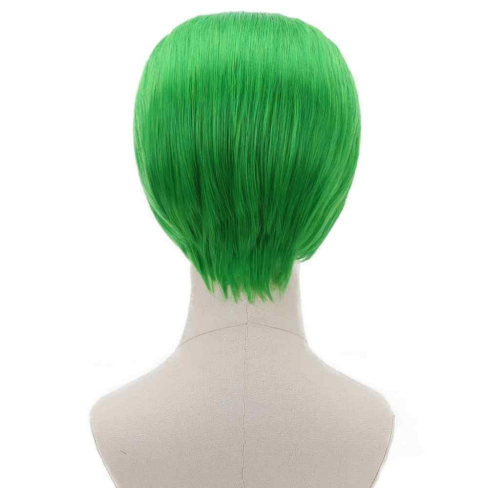 Comic Film Harley Quinn Joker Wonder Vrouw Blonde Groen 2x Twist Vlechten Cosplay Synthetisch Haar Pruiken voor Party Kostuum Halloween