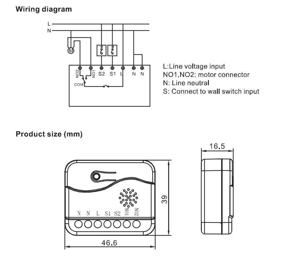 Haozee Z 波プラスローラーシャッターカーテンブラインド、電動モータ Diy のスマートホームエネルギーパワーメータ ZWAVE EU 868.4MHZ