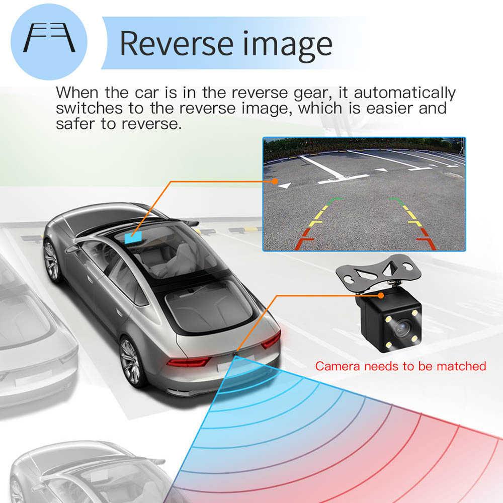 "AMPrime 9 ""راديو السيارة الاندورويد 2 الدين مشغل وسائط متعددة لتحديد المواقع الملاحة السيارات ستيريو واي فاي بلوتوث مشغل فيديو مع كاميرا الرؤية الخلفية"