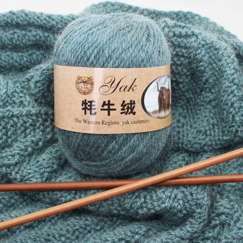 3pcs/300g Yak Cashmere Scarf Thread Hat Thread Bar Needle Ao Wool Hand Knitted Medium Thick Coat Vest Wool Yarn