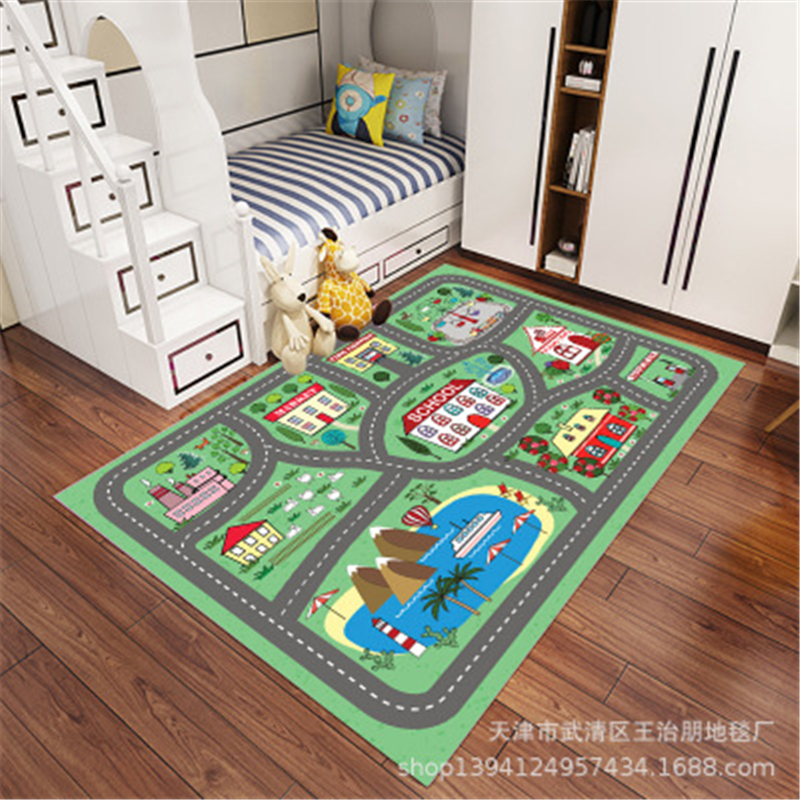 Children Baby Crawling Mat Carpet Rug Thickening Environmental Protection Mat Moisture-proof Game Blanket Shatter-resistant Pad