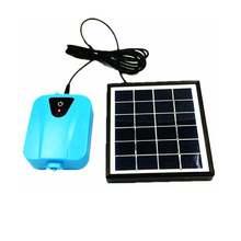 Солнечный воздушный насос с литиевой батареей аквариумные принадлежности