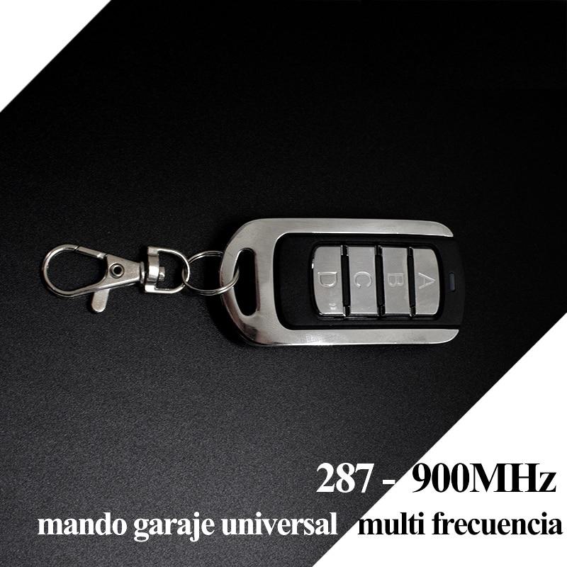Image 4 - 100pcs Door remote control Garage Remote,868mhz gate control,garage command,handheld transmitter 433mhz remote contro duplicatorDoor Remote Control   -