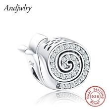 Pandora Charms 925-Sterling-Silver Bracelet Beads Jewelry-Making DIY Original Fit