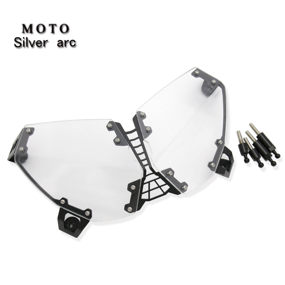 For <font><b>YAMAHA</b></font> <font><b>XT1200</b></font> Z Grille headlight protector guard lens cover Fit Super Tenere XT1200Z 2010-2018 acrylic motorcycle metal image