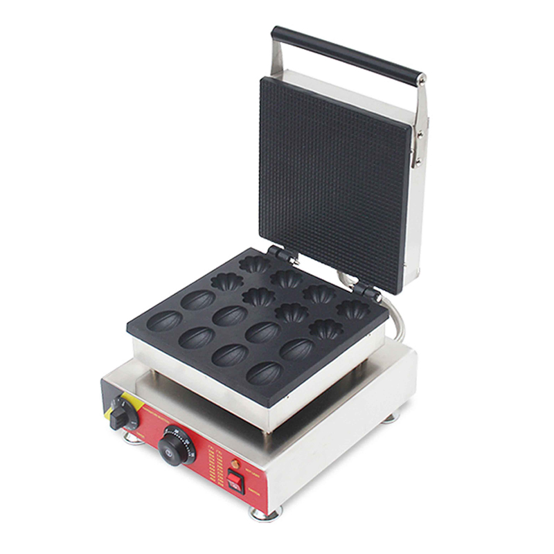 Commercial Nut Flower Shape Waffle Machine Stainless Steel 201 Electric Pancake Waffle Machine NP-522 Non-stick Waffle Maker 1PC