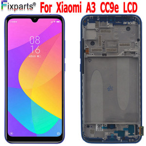 TFT For Xiaomi Mi A3 LCD MIA3 Touch For Xiaomi MI CC9E Screen Replacement Digitizer Sensor Glass For Xiaomi Mi A3 Display Screen