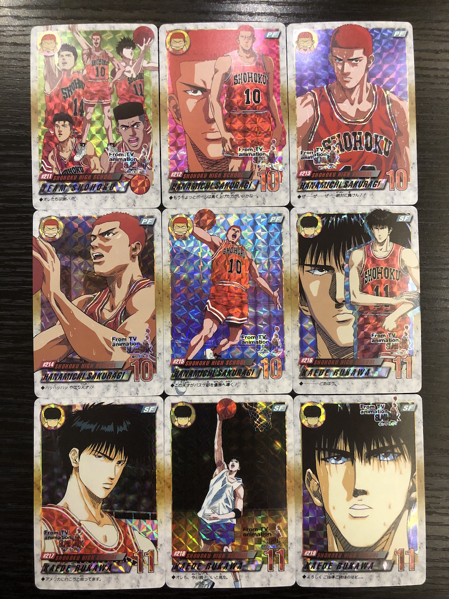42pcs/set Slam Dunk Sixth Bomb Toys Hobbies Hobby Collectibles Game Collection Anime Cards