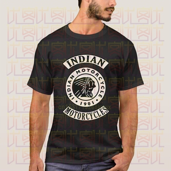 Newest 2020 Summer Cafe Racer Full of Speed Indian and Motorcycle Logo 100% Cotton Clothes T Shirt Homme Tops Tees S-4XL - discount item  48% OFF Tops & Tees