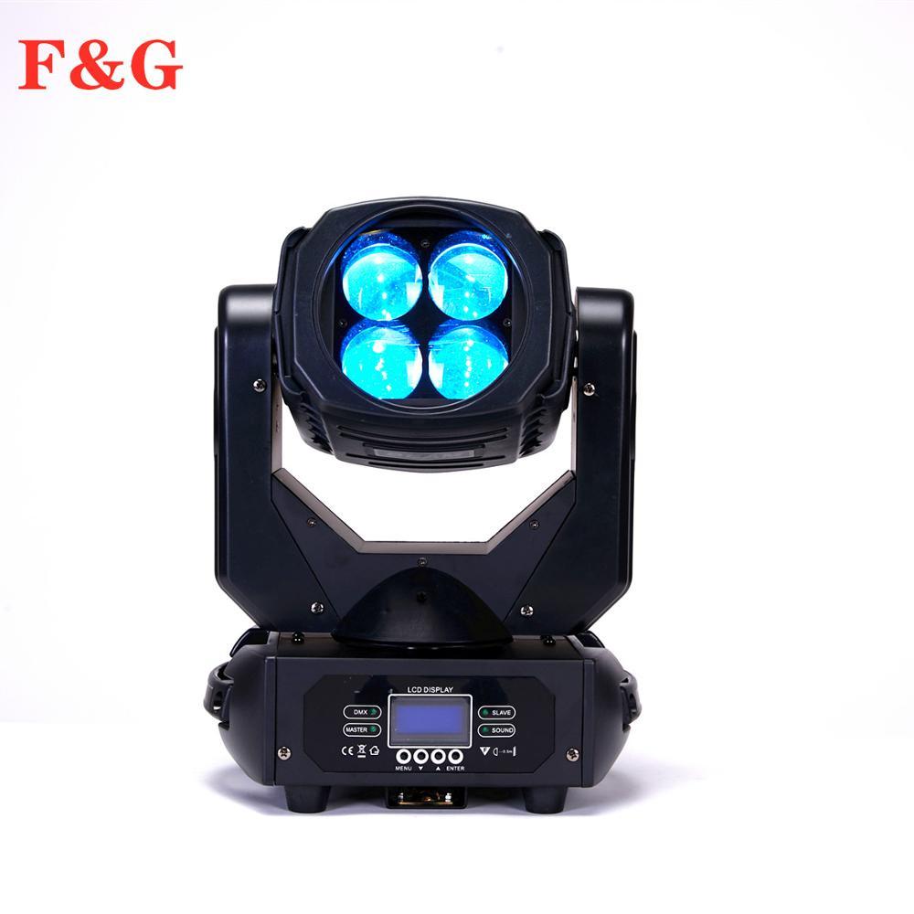 Professionele Night Club Dj Sharpy Lichtbundel 4X25 W Vier Ogen Led Moving Head Super Beam Light - 5