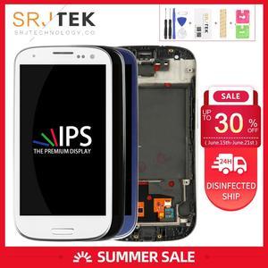 Сенсорный экран AMOLED/TFT для Samsung Galaxy S3 Neo, ЖК-дисплей S3 Neo, сенсорный дигитайзер i9300i, сенсорное стекло в сборе, рамка i9301, дисплей i9308i