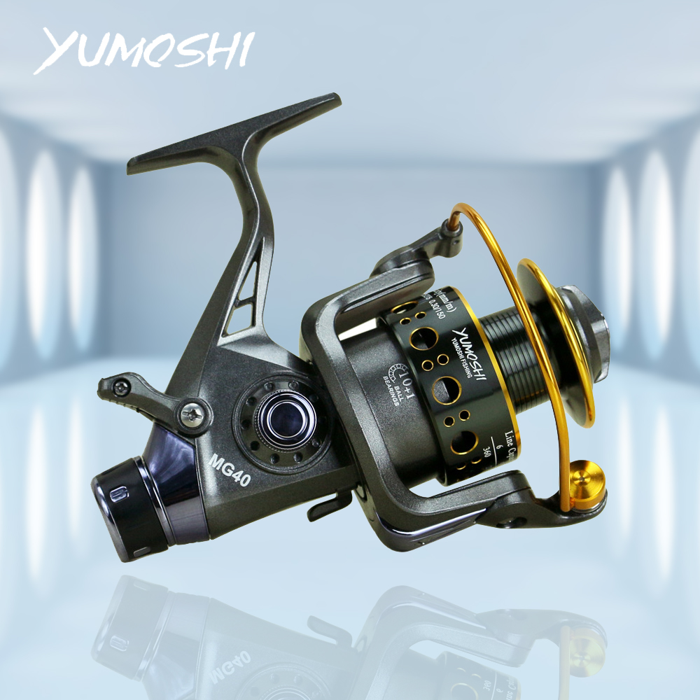 Fishing Reel Carp Fishing Feeder Professional  Spinning Reel 5.0:1 Double Brake Design MG30/MG40/MG50/MG60 Spinning Wheel