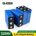 Lifepo4 Перезаряжаемые Батарея пакет 3,2 V 310AH Фирменная Новинка 4 шт 12V 320AH Класс который нужно собрать своими руками клетки ЕС и США без оплаты вв...