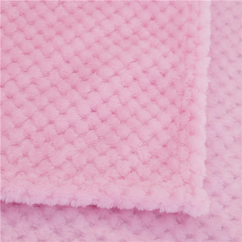 Soft Warm Flannel Blankets For Beds Solid Pink Blue Coral Fleece Mink Throw Sofa Cover Bedspread Fluffy Plaid Blankets-2